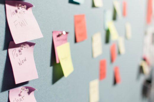 Brainstorming ist eine beliebte Methode zur Partizipation