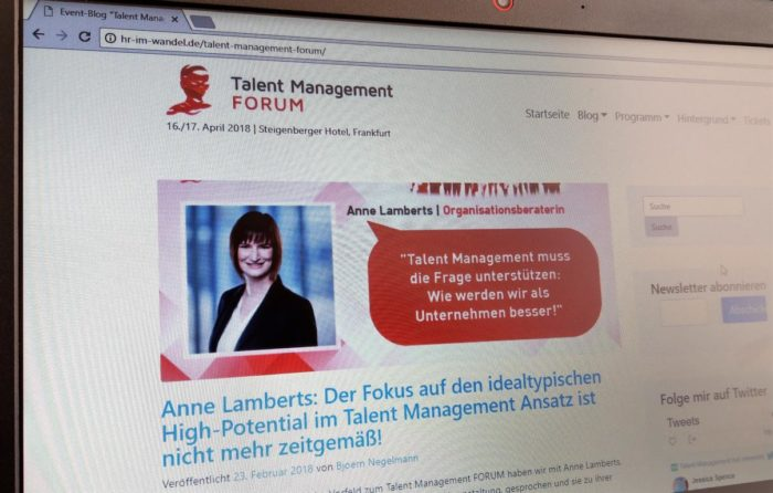 Talent Management Forum