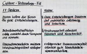 Bild: Culture-Technology-Fit / Annahmenabgleich